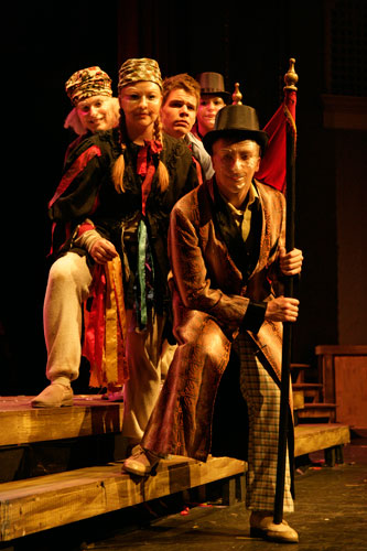 UT Theatre production of The Fantasticks in 2007