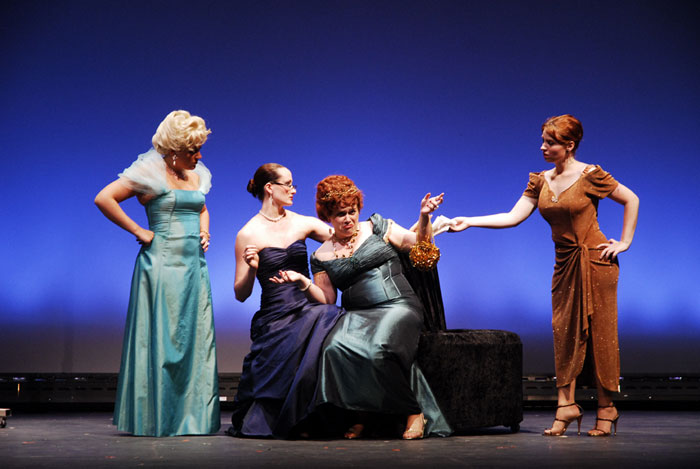 UT Theatre production of The Women in 2007