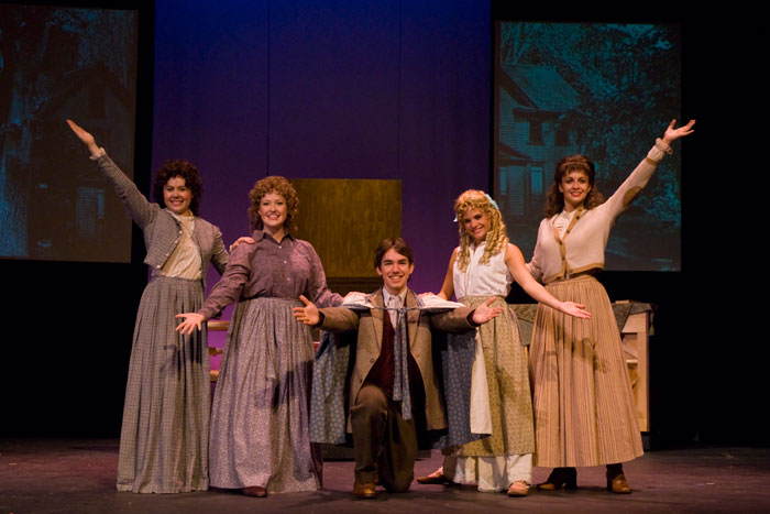 UT Theatre production of Little Women in 2008