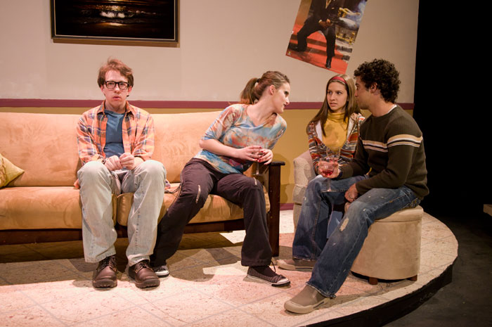 UT Theatre production of The Shape of Things in 2008