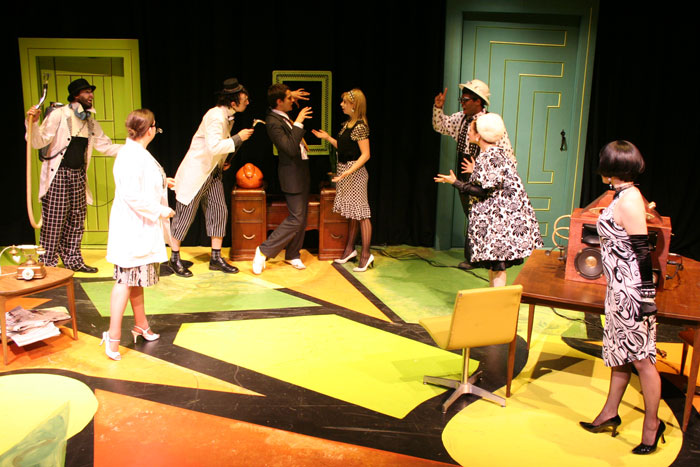 UT Theatre production of The Increased Difficulty of Concentration in 2008