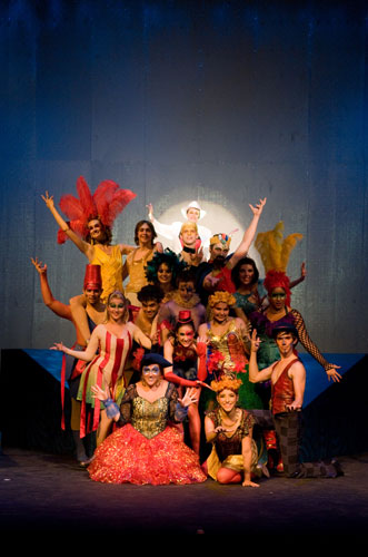 UT Theatre production of Pippin in 2009