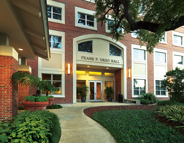 Urso Hall houses 182 upperclass and graduate students. Urso has single and double apartments.