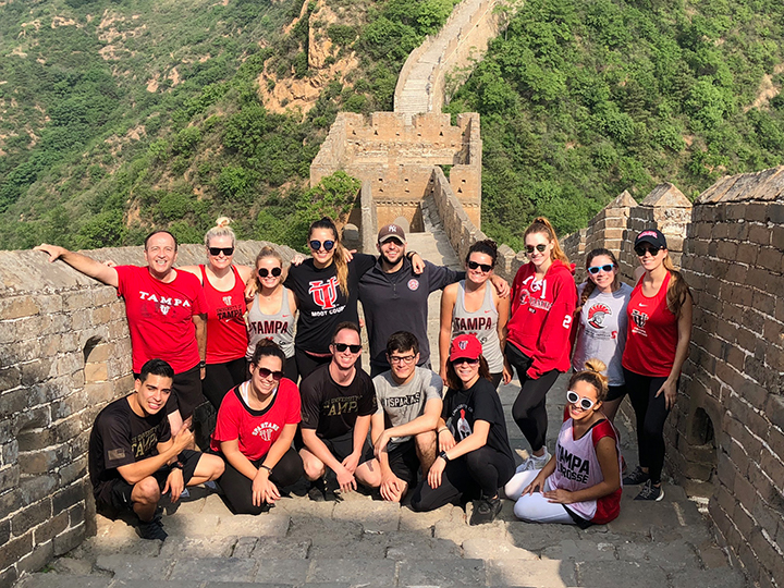Hiking Great Wall of China
