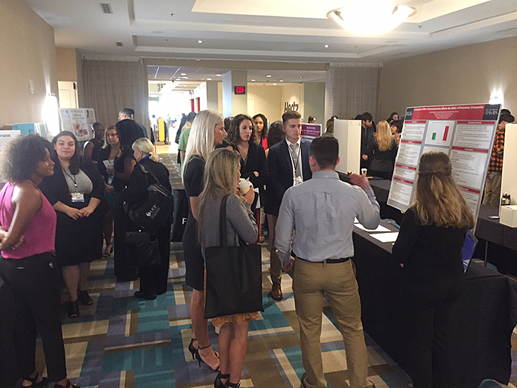 Florida Communication Association Conference student research presentation