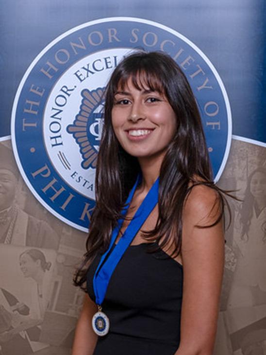 student Ariana Ferrero